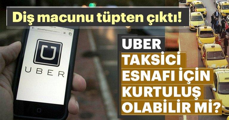 UBER taksici esnafı için kurtuluş olabilir mi?