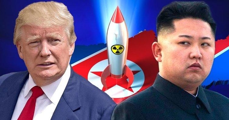 Trump'tan, Kuzey Kore'ye uyarı!