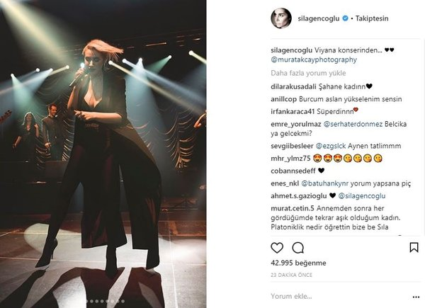 Ünlülerin Instagram paylaşımları (19.03.2018)