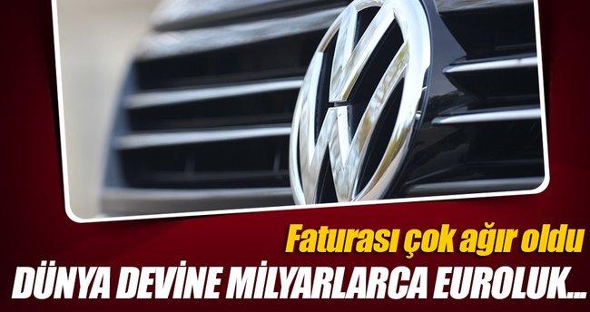 Volkswagen'e 8,2 milyar euroluk bin 400 dava