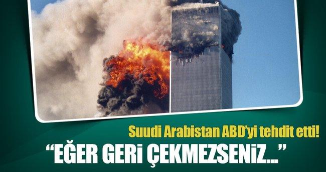 Suudi Arabistan'dan 11 Eylül tasarısına tepki