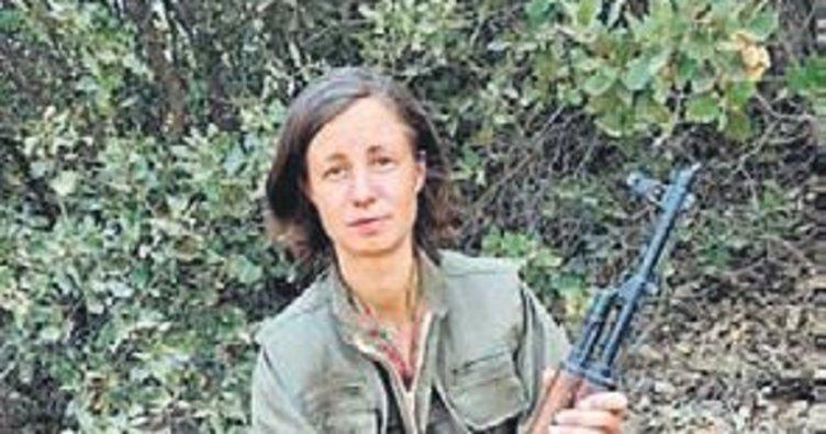 Alman kadın terörist Kandil'de öldürüldü