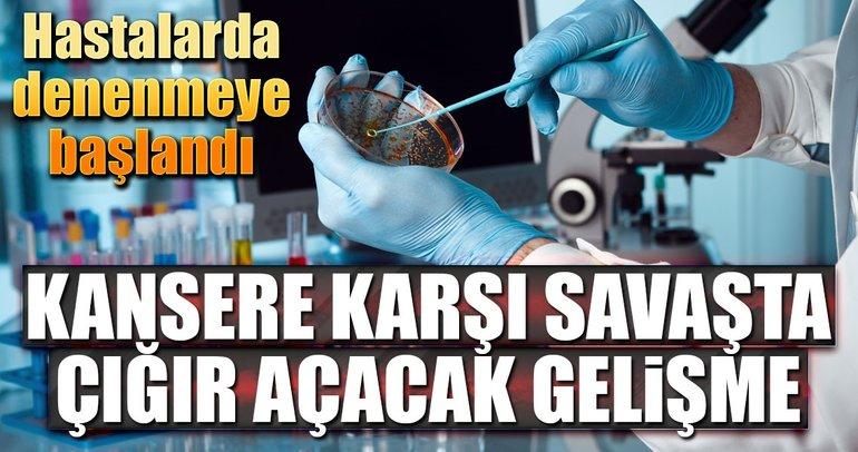 Kansere karşı çığır açacak kan testi