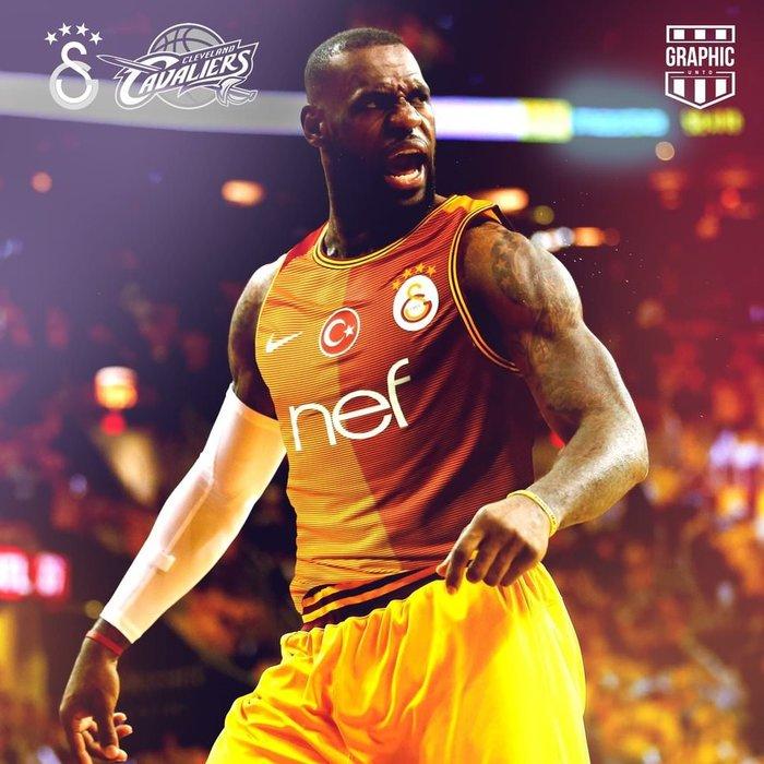 LeBron James Galatasaraylı oldu!