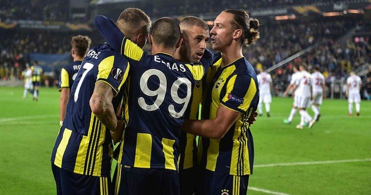 Slimani şov yaptı, Fenerbahçe kazandı