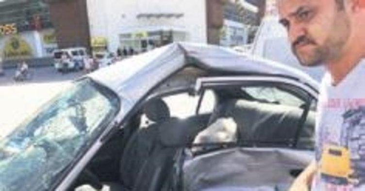 Mamak'ta kaza: 4 yaralı