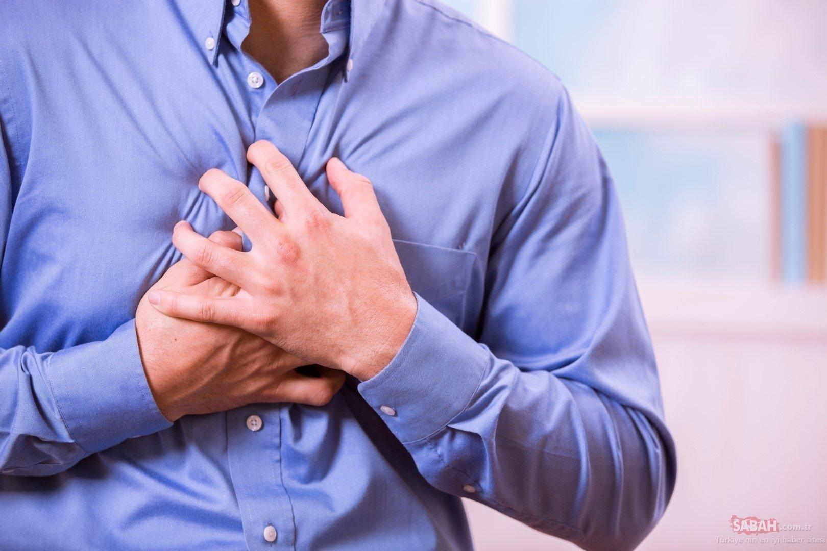 Uzmanlar açıkladı! İşte kalp krizinin ilk belirtisi…