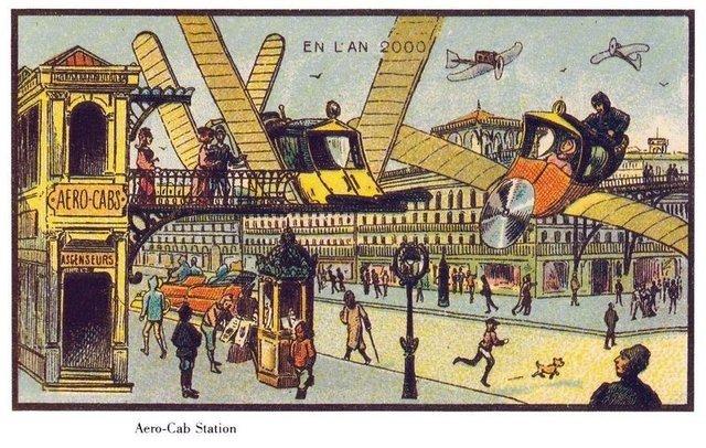 100 sene önce bugünü nasıl hayal etmişlerdi?
