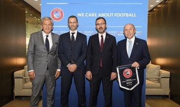 Türkiye'den UEFA ziyareti