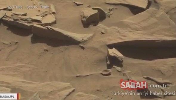 Mars'tan gelen kareler kan dondurdu! Dünyayı şoke eden olay!
