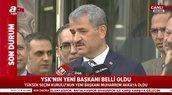 YSK'nın yeni Başkanı Muharrem Akkaya'dan açıklama