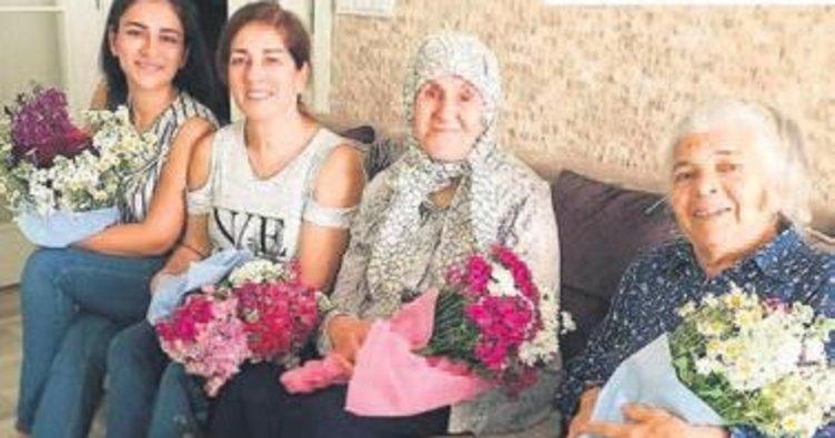 Anneler Günü'nde nişanlısının ailesini ziyaret etti