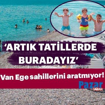Van Ege sahillerini aratmıyor