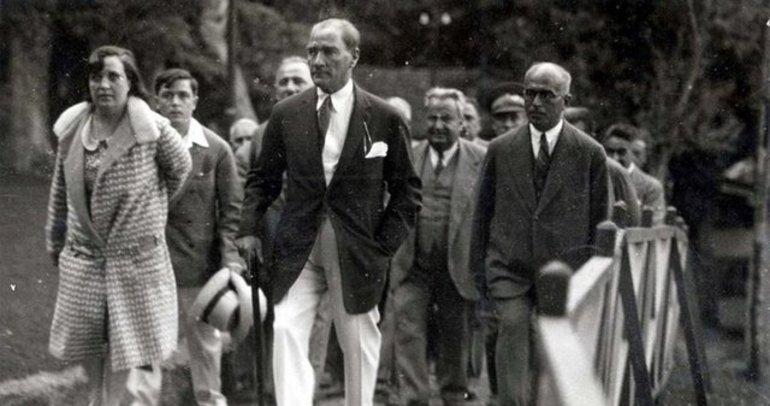 İşte Atatürk'ün pek bilinmeyen fotoğrafları - Galeri - Türkiye