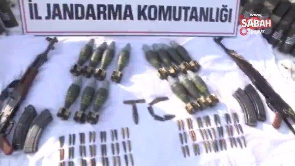 Teröristin üzerindeki kroki incelendi, mini cephanelik bulundu   Video
