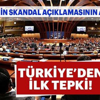 Avrupa Konseyi Parlamenter Meclisi'nden skandal seçim açıklaması!