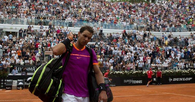 Roma Açık'ta Nadal sürprizi