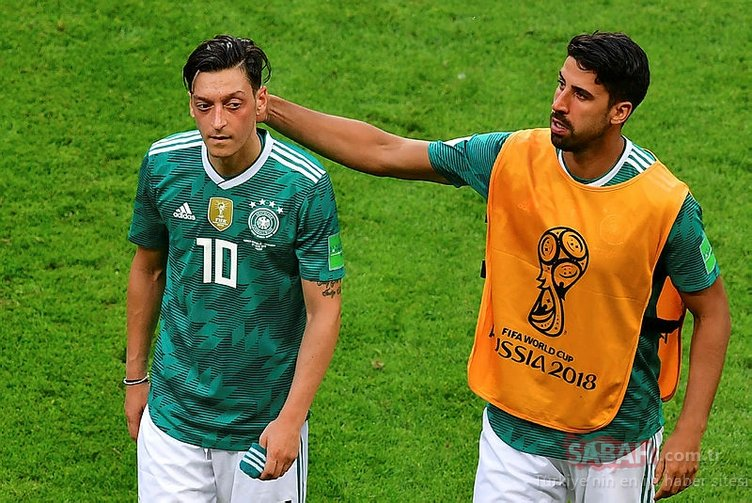 Güney Kore - Almanya maçından sonra, Mesut Özil seyirciyle tartıştı