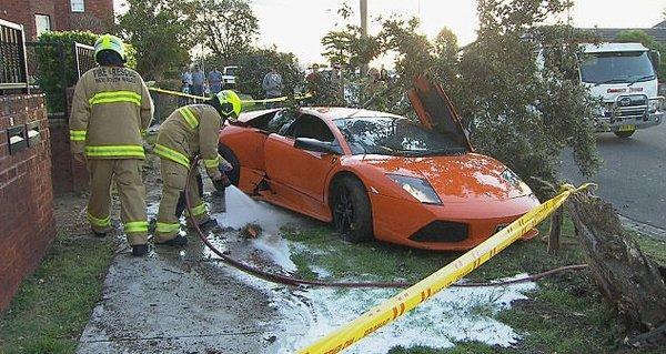 Bu kaza servete mal oldu
