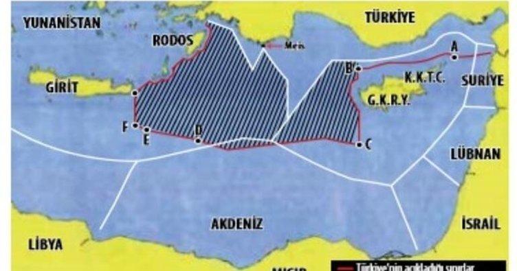 Son dakika haberi: Doğu Akdeniz'de gerilimi tırmandıran Sevilla haritası! Yunanistan ve GKRY, gayrimeşru harita ile ne yapmaya çalışıyor?