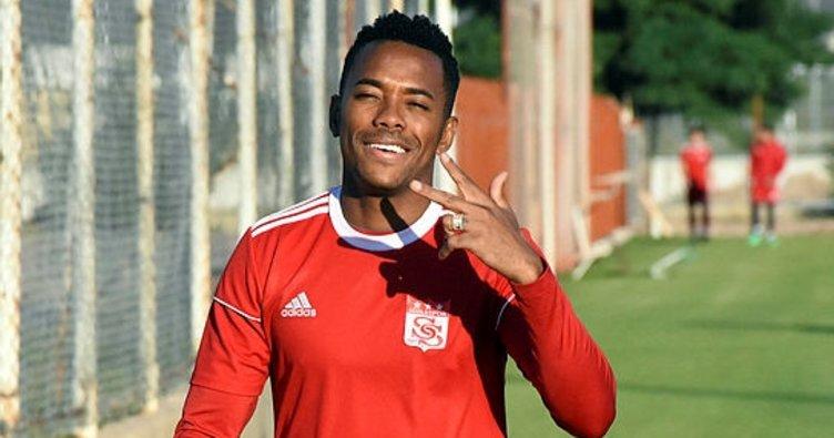 Robinho yeni sezonda '7' numaralı formayı giyecek