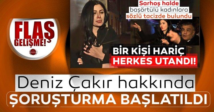 Son dakika haberi: Başörtülü kadınlara hakaret eden Deniz Çakır hakkında soruşturma