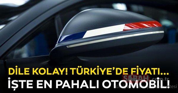 Türkiye'deki en pahalı otomobiller hangileri?