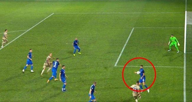 İşte Fenerbahçe'nin penaltı kazandığı pozisyon