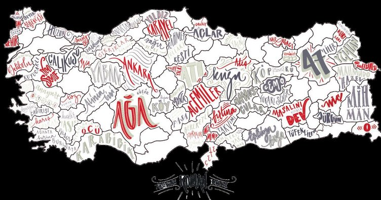 Türkiye'nin roman haritası çıkarıldı