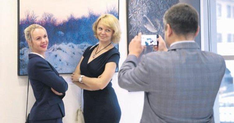 Ukraynalı ressamdan 'Ruhumun Sesi' sergisi