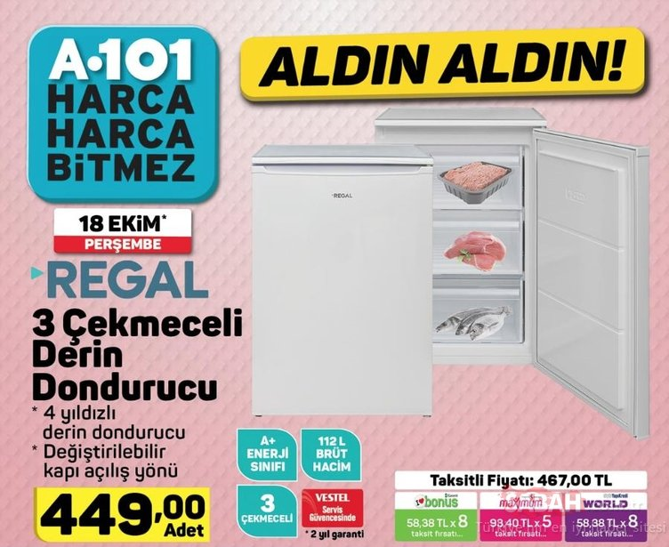 A101 aktüel ürünleri listesi yayınlandı! 18 Ekim Perşembe A101 aktüel ürünleri listesi hangi ürünler var?