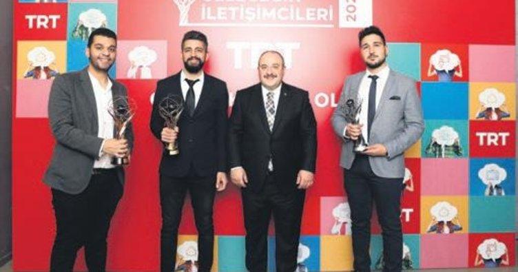 TRT Geleceğin İletişimcileri Ödülleri verildi