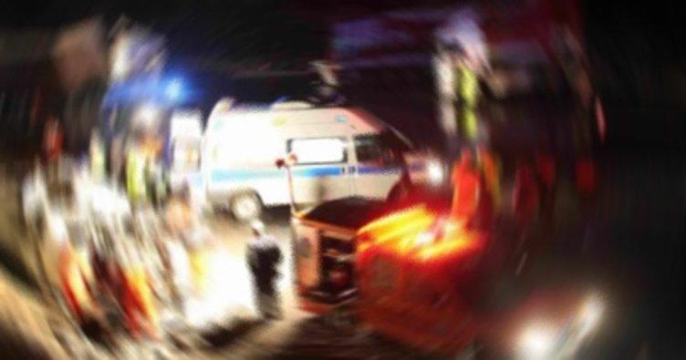 Balıkesir'de otomobil ile otobüs çarpıştı: 1 ölü, 3 yaralı