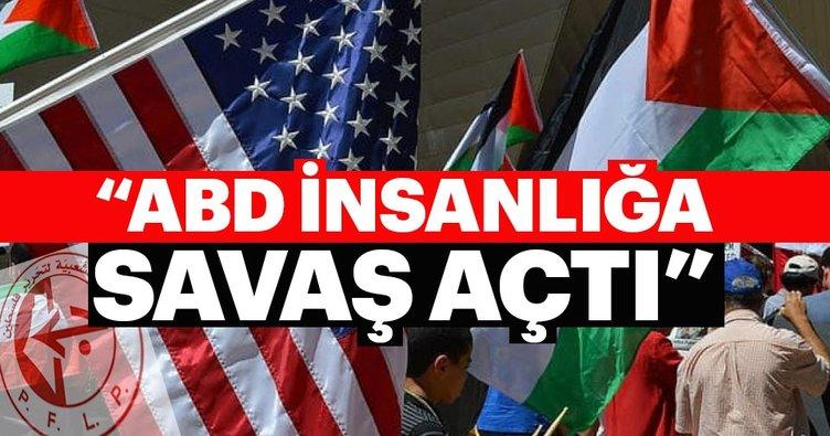 ABD, Filistin davasına savaş açtı
