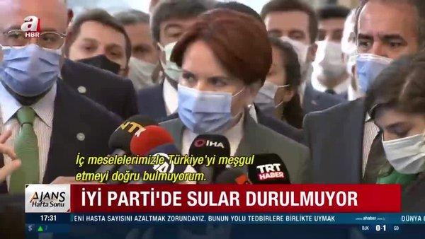 İYİ Parti'de liste krizi büyüyor! Meral Akşener istifası istenen Koray Aydın'a sahip çıktı | Video