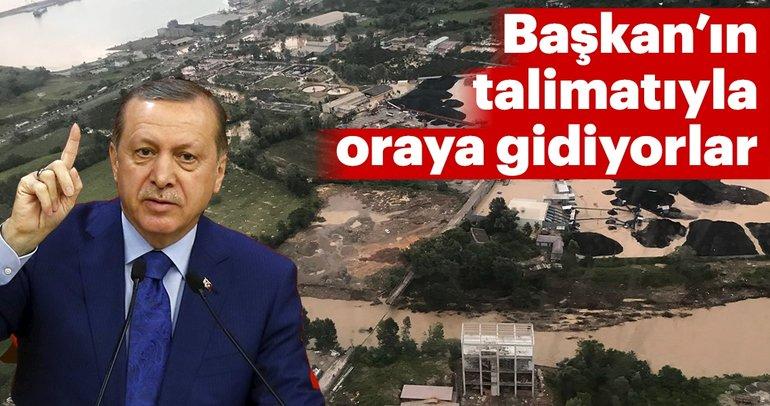 Son dakika: Başkan Erdoğan'ın talimatıyla oraya gidiyorlar
