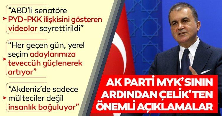 Son dakika: AK Parti MYK toplantısı sona erdi... Çelik'ten önemli açıklamalar