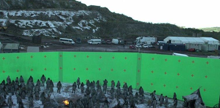 İşte Game of Thrones'un perde arkası