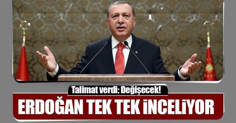 Erdoğan talimat verdi: Teşkilat değişecek