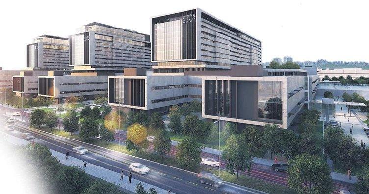 4.3 milyar $'lık şehir hastanesi 2020'de kapılarını açıyor