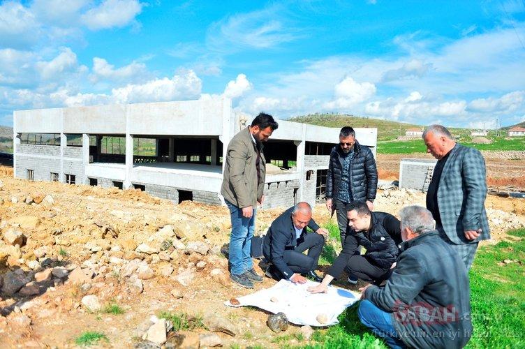 Ünlü şarkıcı Berdan Mardini köyüne fabrika kuruyor!