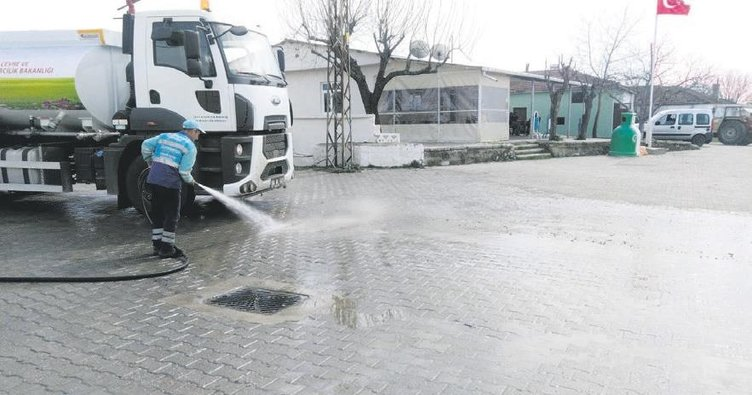 Süleymanpaşa Belediyesi'nde salgın tedbirleri