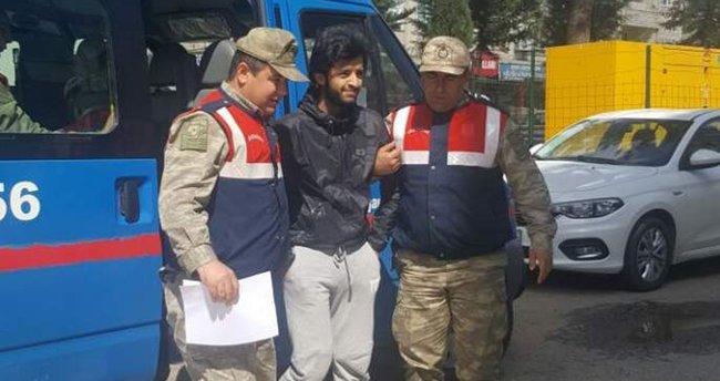 Türkiye'ye giriş yasağı bulunan 'Savaşçı' yakalandı