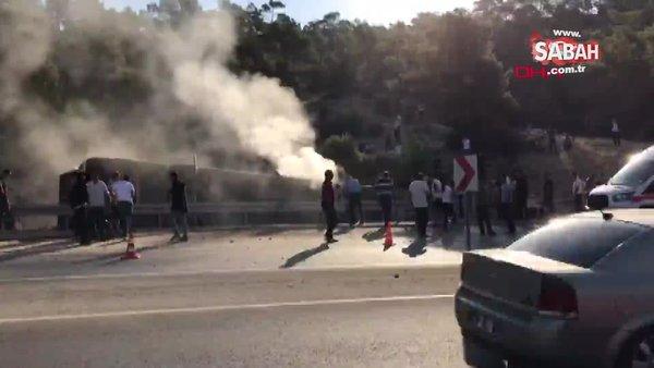 Son Dakika Haberi: Mersin'de askerleri taşıyan otobüs devrildi: 4 şehit, 27 yaralı    Video