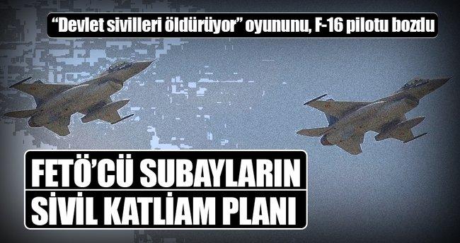 FETÖ'cü subayların sivil katliam planı