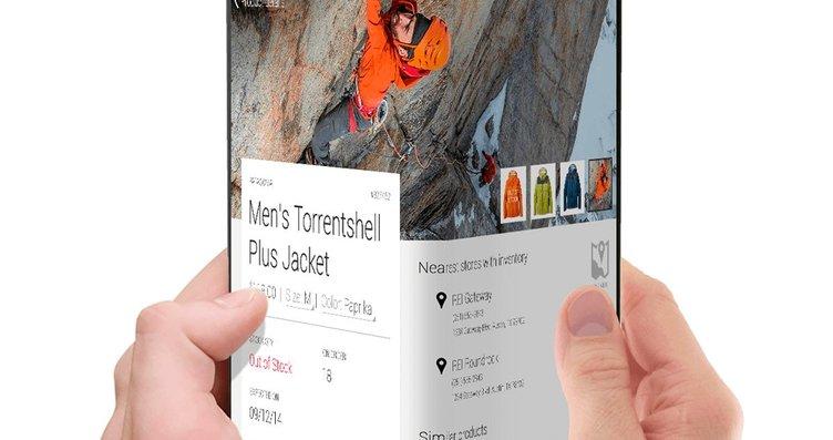 Samsung'un katlanabilir ekranlı telefonu böyle...