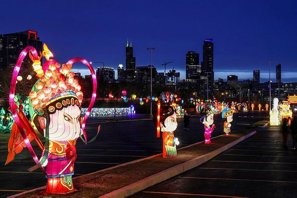 Çin'in ejderha ışıkları ABD'yi büyüledi