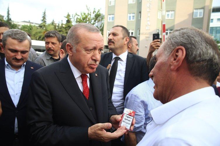 Başkan Erdoğan'dan Bağcılar Belediyesi'ne ziyaret