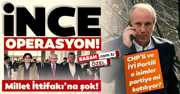 Son dakika haber: Muharrem İnce'nin partisine katılacak vekiller belli oldu! Yalnızca CHP'li isimler değil, İYİ Partililer de var...