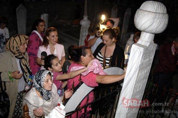 Oruç Baba'da ekmek-sirke ile ilk iftar heyecanı
